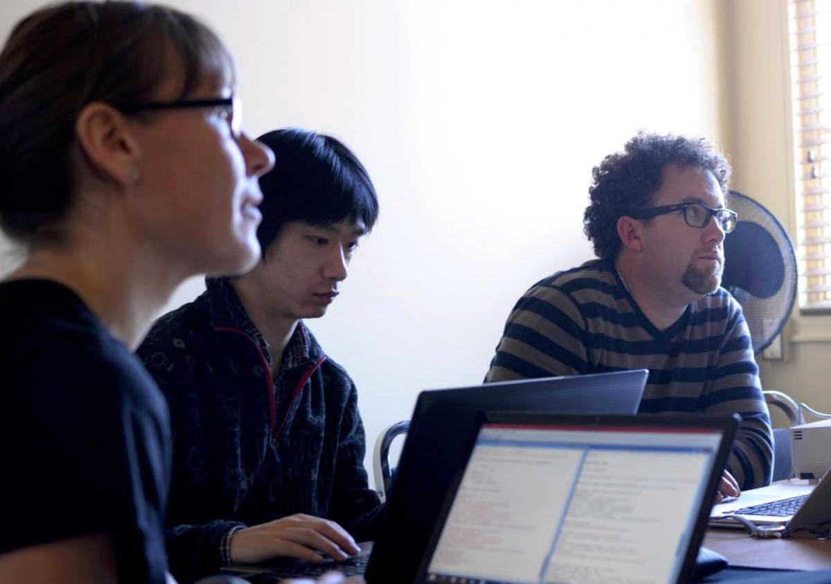 Students in Arizona Methods Workshop